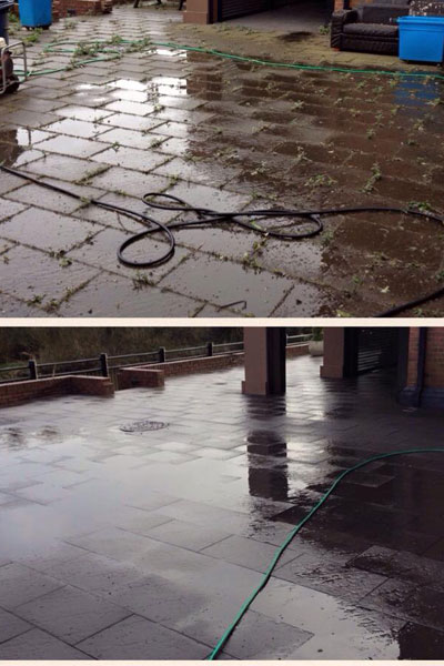 pressure washing services in